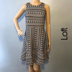 NWT Loft Black & White Sleeveless Dress Size 2 for Sale in Palmyra, NJ