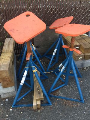 Boat stands (used one season) for Sale in Alexandria, VA