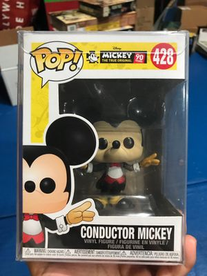 Funko Pop Conductor Mickey for Sale in La Puente, CA