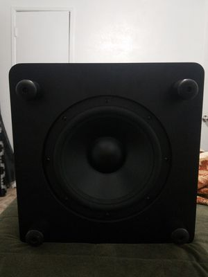 Jbl studio subwoofer lsr 310s good condition for Sale in Santa Monica, CA