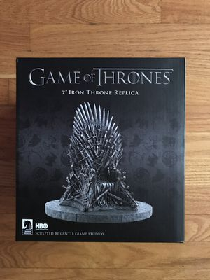Game Of Thrones: The Iron Throne Statue for Sale in Evergreen Park, IL