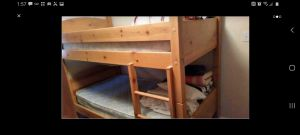 Sturdy solid wood bunk beds for Sale in Maple Valley, WA