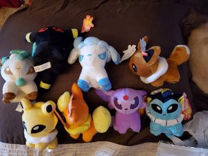 Pokémon plush toys for Sale in Port Orchard, WA