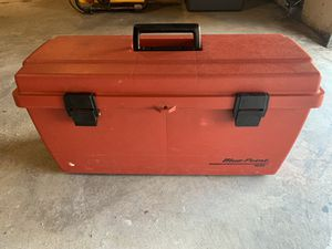 Vintage Blue Point Tool Box (Plastic) for Sale in Sheridan, CO