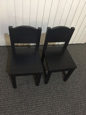 2 chairs kids for Sale in Everett, WA