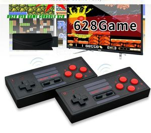 New mini console built in 628 games wireless controller output dual players for Sale in Riverside, CA