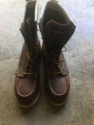 Thorogood work safety toe boots for Sale in Germantown, MD