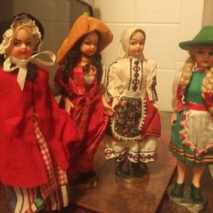 4 Vintage Eros Italian Made Dolls for Sale in Uniontown, OH