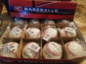 Dozen Rawlings baseballs for Sale in Sun City, AZ