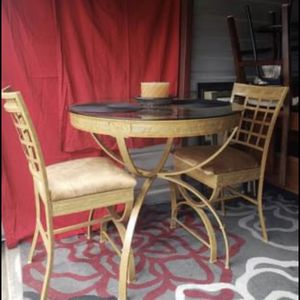Metal Table With 2 Chairs for Sale in Raleigh, NC