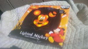 Rare hard to find Mickey Mouse Lighted Mickey Halloween Disney mickey mouse for Sale in Houston, TX