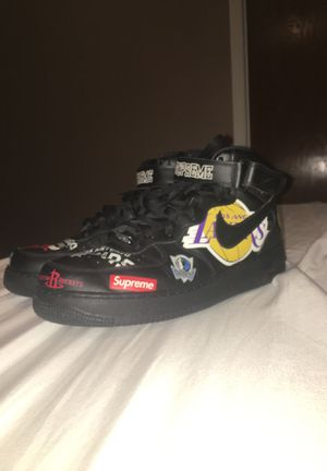 Supreme/ NBA / Nike Air Force 1 size 12 for Sale in Culver City, CA