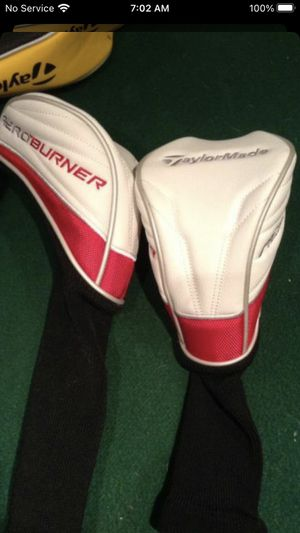 BRAND NEW TAYLOR MADE GOLF CLUB COVERS FOR VERY CHEAP $40 for ALL JUST REDUCED for Sale in Oak Forest, IL