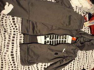 Little boy puma sweatsuit for Sale in Jacksonville, FL