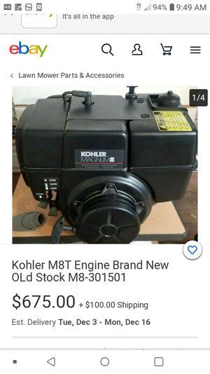 Kohls 8hp magnum gas motor for Sale in Bloomington, CA