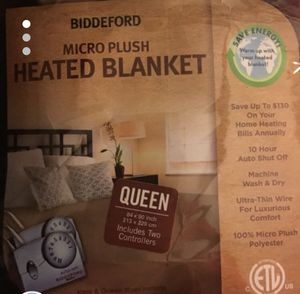 Electric blanket Tan for Sale in Ridgefield Park, NJ