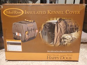 $85 MUD RIVER INSULATED KENNEL COVER XL for Sale in Las Vegas, NV