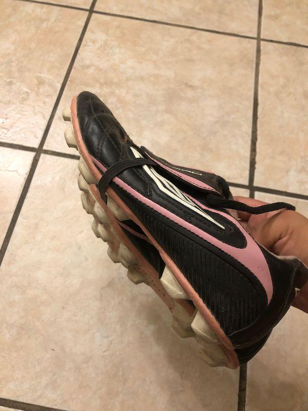 Girl soccer shoes