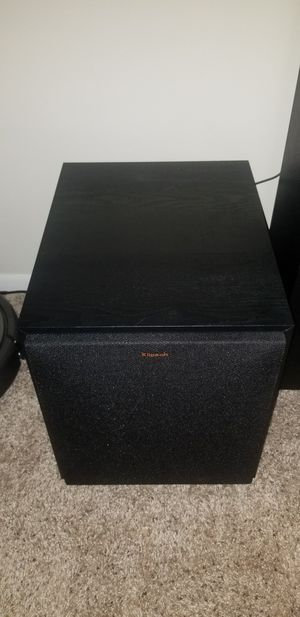Klipsch R-100SW 300W Powered Subwoofer - Black for Sale in Deerfield Beach, FL