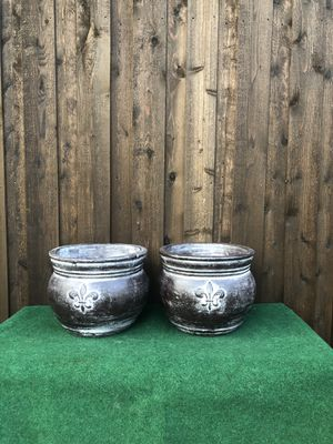 Brown Clay pots for Sale in Carrollton, TX