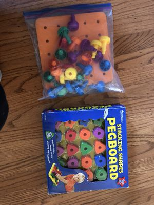 Games, matching game, pegboard, puzzle for Sale in Newark, CA