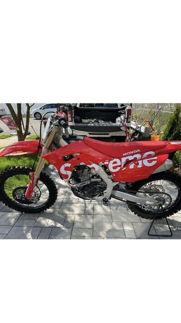 2020 Honda dirt bike