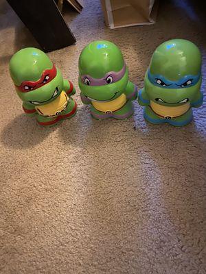 Ninja turtle piggy banks for Sale in Napa, CA