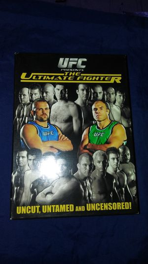 New UFC presents The Ultimate Fighter 3 disc uncut, untamed and uncensored for Sale in East Los Angeles, CA