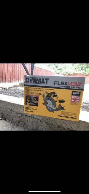 dewalt flex volt saw for Sale in Dallas, TX