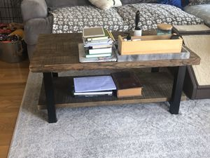 Solid wood coffee table for Sale in Seattle, WA