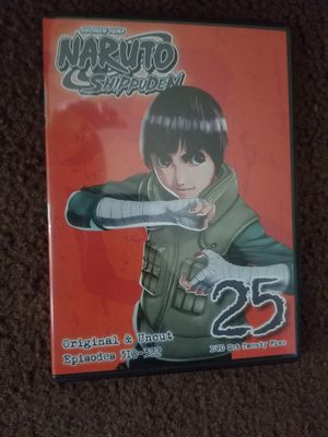 Naruto Shippuden set 25 DVD for Sale in Santa Ana, CA