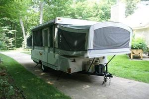 2004 Fleetwood Utah pop up camper for Sale in Kenosha, WI