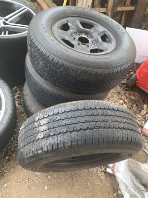 Ford truck rims and tires for Sale in Citrus Heights, CA