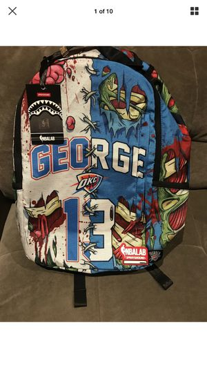 SPRAYGROUND BACKPACK NBA OKC THUNDER - PAUL GEORGE * BRAND NEW for Sale in Los Angeles, CA