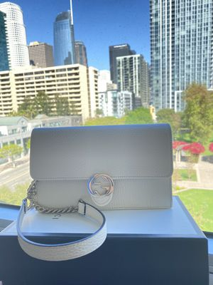 New! White Gucci Bag (Details Below) for Sale in Los Angeles, CA