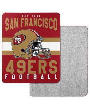 San Francisco 49ers Cozy Fleece Throw Blanket for Sale in Palmdale, CA