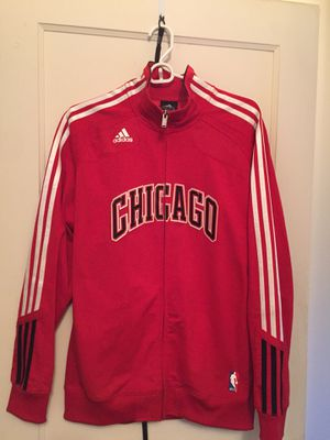 Adidas Chicago Bulls Track Jacket for Sale in Alexandria, VA