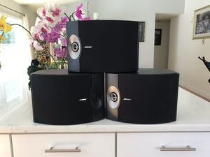 3 Bose 301 series V ( Firm price $200) excellent louder bass speakers sound amazing for Sale in Edmonds, WA