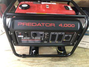Generator predator 4000 for Sale in Fort Lauderdale, FL