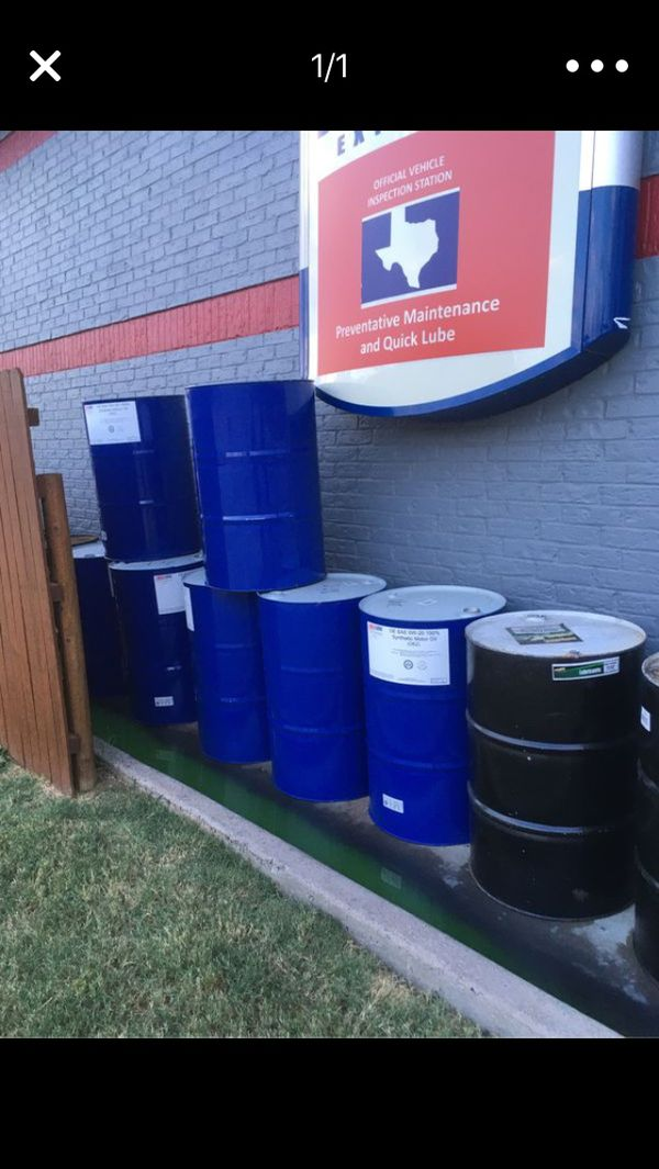 Free 55 gallon drums