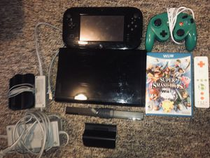 Nintendo Wii U - Super Smash Bros Bundle for Sale in Byron, CA