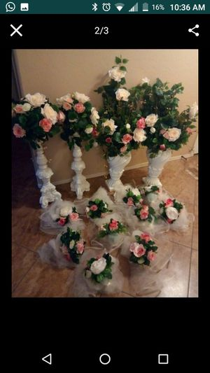 Vases decor wedding for Sale in Phoenix, AZ