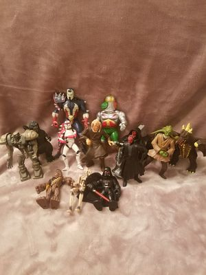 13 assorted Action Figures for Sale in Nashua, NH