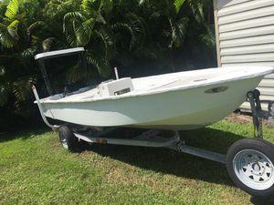 15 ft Boat & Trailer for Sale in Sebastian, FL