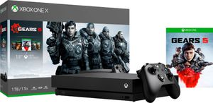 BRAND NEW GEARS OF WAR 1-5 BUNDLE BLACK XBOX ONE X 1TB NEVER OPENED!! for Sale in Goodyear, AZ