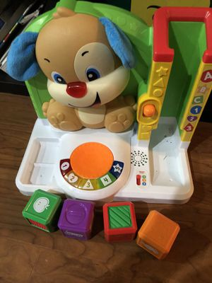 Fisher price laugh and learn blocks for Sale in University Place, WA