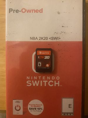 Nintendo switch games 2 for Sale in Herndon, VA