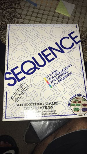 Sequence board game for Sale in Framingham, MA