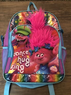 Trolls backpack for Sale in Tampa, FL