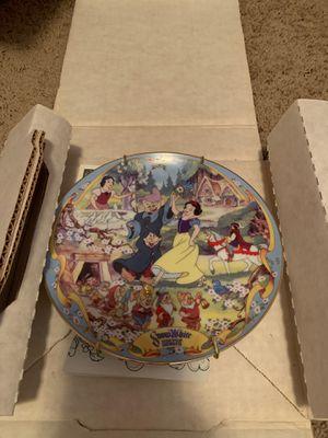 Bradford Exchange's Disney Snow White collectors plate for Sale in Wichita, KS